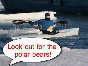 pugh kayak Lewis Gordon Pughs Ice Bound Polar Defense Project