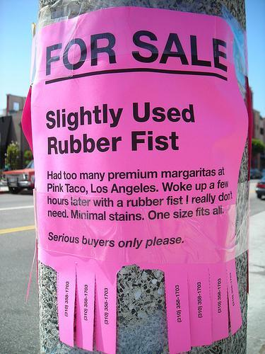 Rubber Fist Sex Toy 54