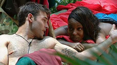 sabrina manning Im A Celebrity Censors Sex Scenes