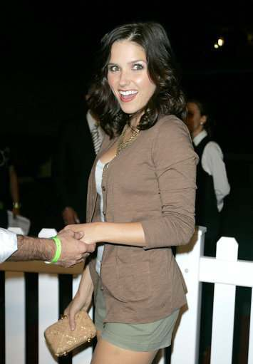 Sophia Bush arrives to the 'OPen Campus' Launch Party held at Mel's Diner in West Hollywood, California on July 7, 2009.