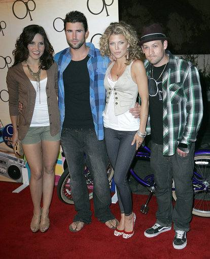 Sophia Bush, Brody Jenner, AnnaLynne McCord, Joel Madden arrive to the 'OPen Campus' Launch Party held at Mel's Diner in West Hollywood, California on July 7, 2009.