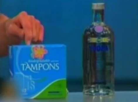 Wodka Tampon