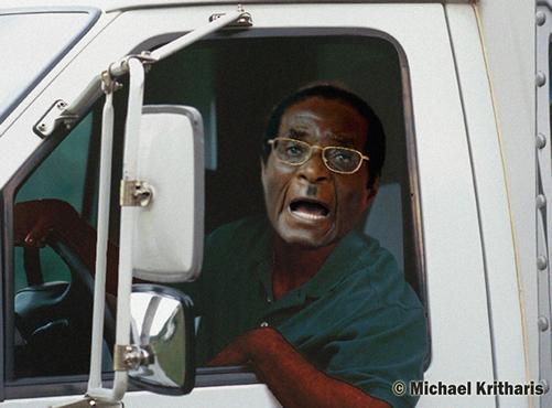 black truck drivers