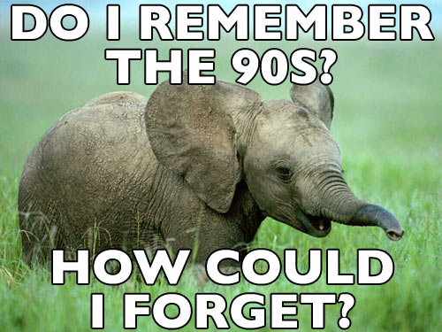 Anorak News 1990s Elephant Is A Meme That Never Forgets