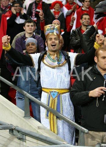 Oldest fan in Wembley