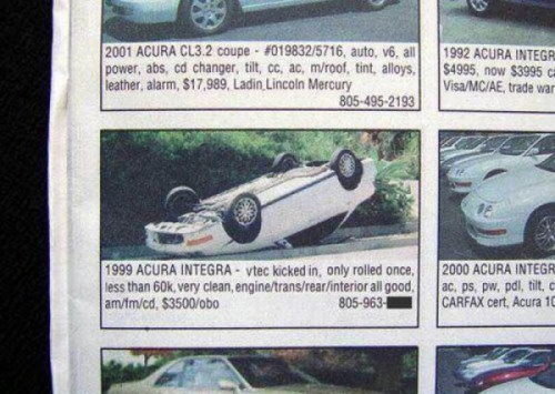rolled-car