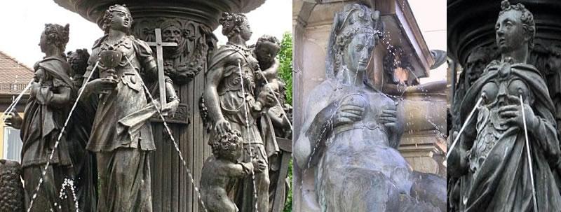 Fountain of Virtues - Nuremberg