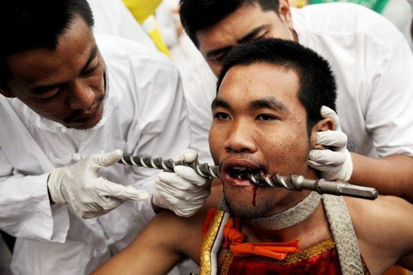 THAILAND-VEGETARIAN FESTIVAL-PHUKET