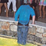 Prince Harry Dancing And Getting Wet Photos