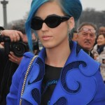 Katy Perry is Smurfette: Viktor & Rolf for Paris Fashion week – photos