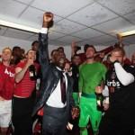 Charlton Athletic promoted 2012 – photos