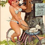 Vintage Erotica – the chubby pin-up girl exists