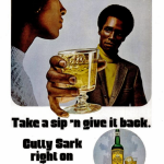 Men looking like idiots in alcohol adverts (1970s and 1980s)