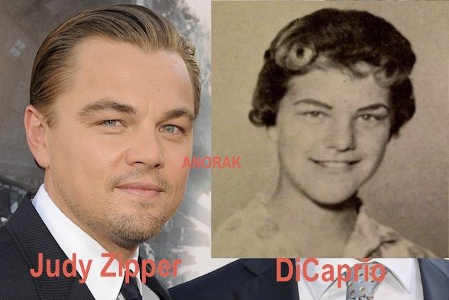 Anorak News | Reincarnated: Leonardo DiCaprio used to be Judy ...