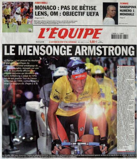 Lance Armstrong – a life in photos