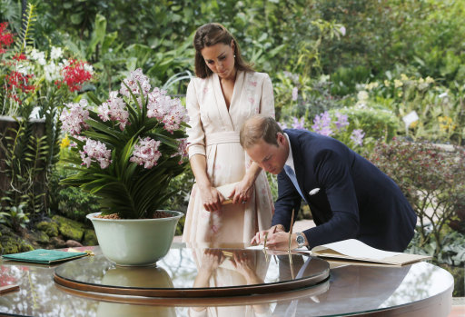 Prince William and Kate Far East tour photos