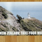 All of Murray's New Zealand Tourism posters from Flight of the Conchords