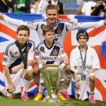 David Beckham and family win Major League Soccer Cup Final (photos)