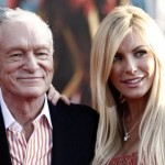 Hugh Hefner and Crystal Harris in photos