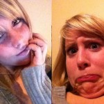 Pretty women making ugly faces – the best of
