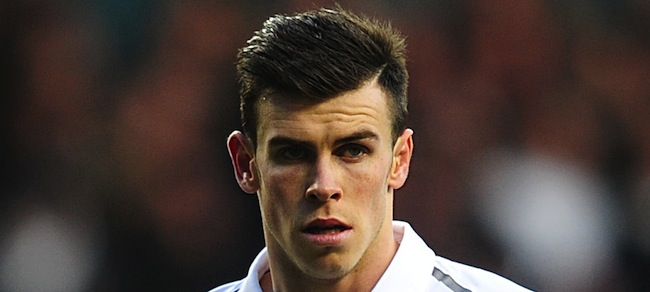 fc63a0854d0 Other images from Spurs v Arsenal  No need for bananas – Gareth Bale had his  ears pinned back