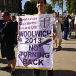 In photos: The EDL demos in Downing Street and Newcastle mean no peace for Lee Rigby
