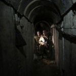Photos of a smuggling tunnels found between Gaza Stripand Israel