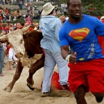 Pamplona Bull Running Comes To Georgia: The Great Bull Run In Photos