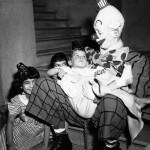 Clowns Look Like Serial Killers And Perverts In Black And White Photos