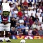 Football Mascots Observe The Minute's Silences – Photos