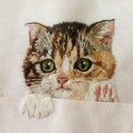 Cat Shirts: Embroidery Artist Hiroko Kubota Has Your Christmas Gifts Sorted