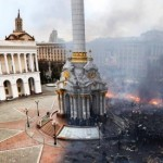 Gifs Show Kiev's Independence Square Before And After The Murder And Mayhem