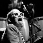 May 20 1976: Elton John Laughs It Up On Stage In Birmingham