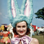 Circus Performers Of 1940s And 1950s America In Colour