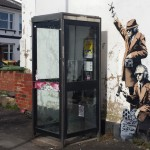 Photos of The New Banksy Artwork By GCHQ, Cheltenham