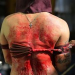 Philippines Holy Week 2014: The Penitents Flagellate Themselves