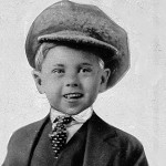 Mickey Rooney Poses For A Promotional Photo At Age 5 In 1925