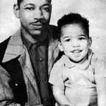 Jimi Hendrix As A Baby With His Parents In The Early 1940s