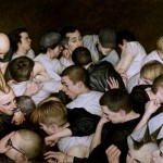 Artist Dan Witz Captures The Magic Of The Mosh Pit In These Hyper-Realistic Pantings