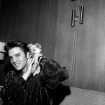 Elvis Presley After His Arrest With Sweet Pea The Dog: 1956