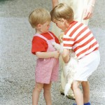 King Juan Carlos Hosts Diana, Charles And the Young Princes Harry and William In Majorca 1988 (9 Photos)