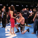 Carl Froch Wins Rachael Cordingley In 16 Boxing Ring Photos