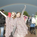 Glastonbury 2014: Great Photos Of People In The Rain And Mud Featuring The World's Most Regretful Man