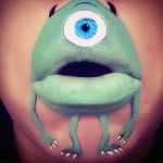 Makeup Artist Uses Her mouth To Create Your Favourite Face-Painted Cartoon Characters