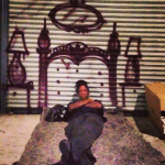 Artist Paints Skid Row's Homeless Into His Dreamy Pictures