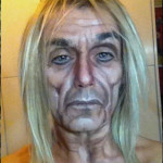 Artist changes her face into The Queen, Iggy Pop, Keith Richards, Lemmy and others