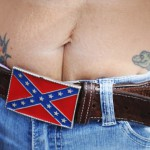 Confederate flag protest in Loxahatchee, Florida (photos)
