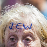 Free speech wins: London's nee-Nazi protest against London's 'Jewification' in photos