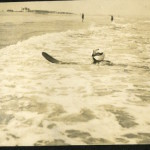 Agatha Christie: rare photos of the surfing Queen of Crime