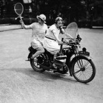 Cool girls on killer rides: retro photos of women on motorcycles